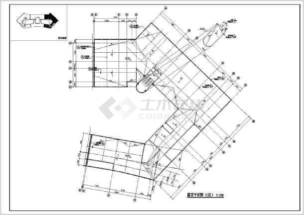 某地职业技术学院建筑施工图纸-图2