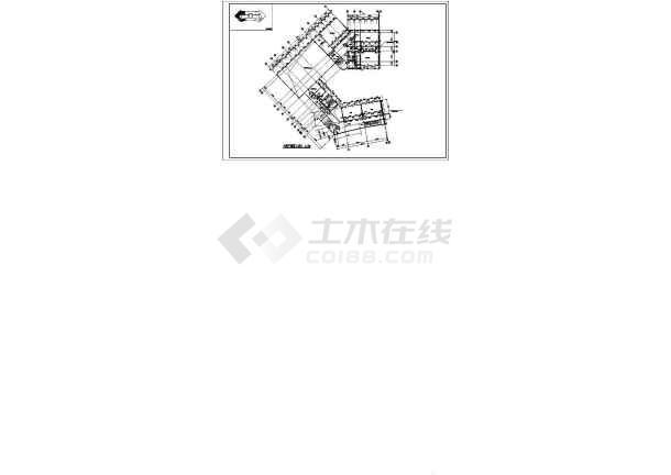 某地职业技术学院建筑施工图纸-图3