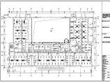 杭州某多层办公楼空调CAD布置图图片2