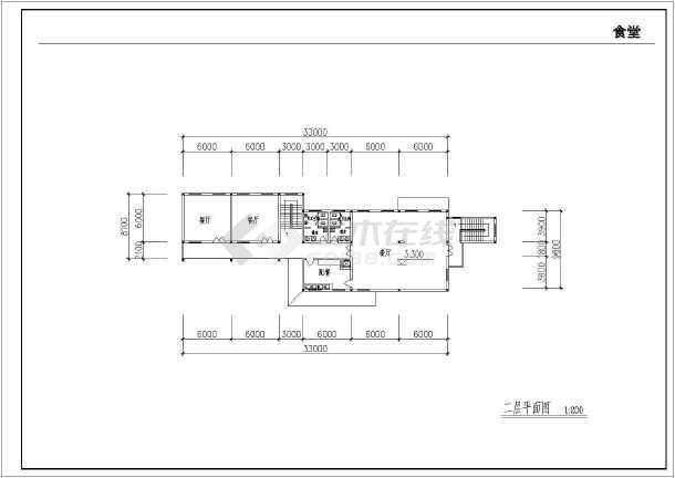 某地农村中学扩建工程全套建筑施工图-图3