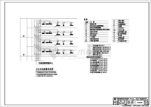 [湖南]国际商贸中心商业楼电气施工图-图1