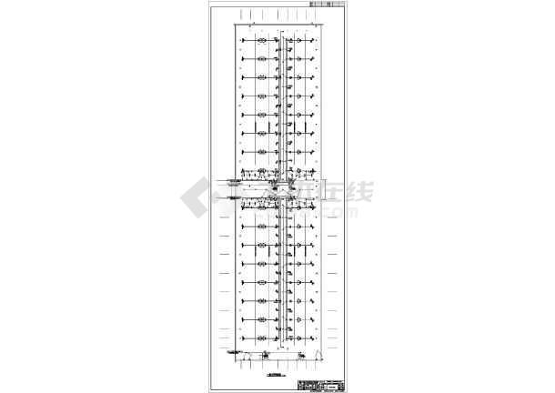 [湖南]国际商贸中心商业楼电气施工图-图2