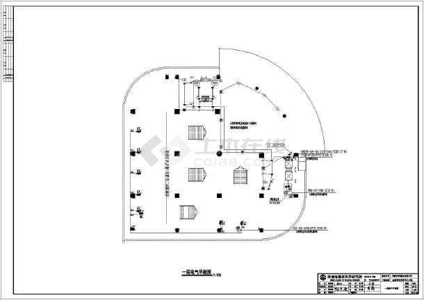 点击查看[湖南]国际商贸中心商业楼电气施工图第2张大图