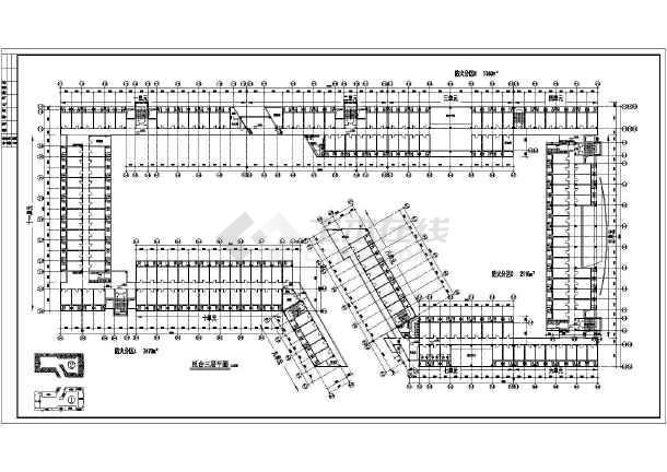 某地学生宿舍建筑施工图(共8张)-图3
