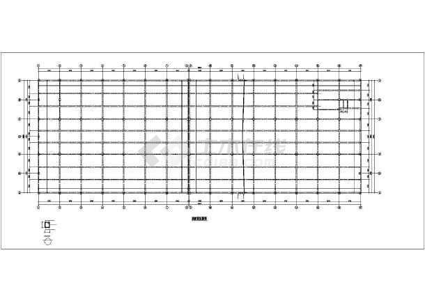 某框架厂房结构设计图-图3