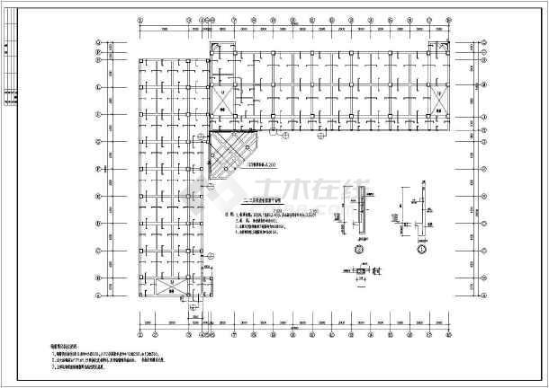 某4层框架高中实验楼结构设计图-图3