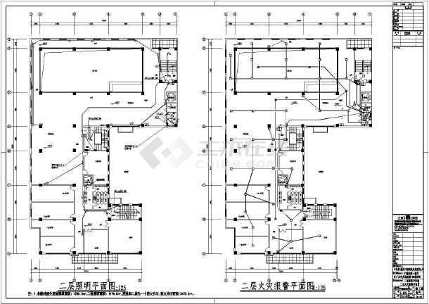 [安徽]农产品电商物流园售楼部电气施工图-图1