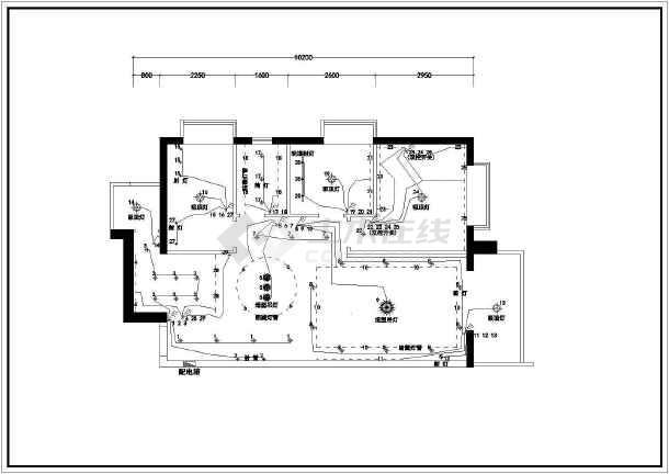 点击查看某经典全套家装cad平面施工设计图第1张大图