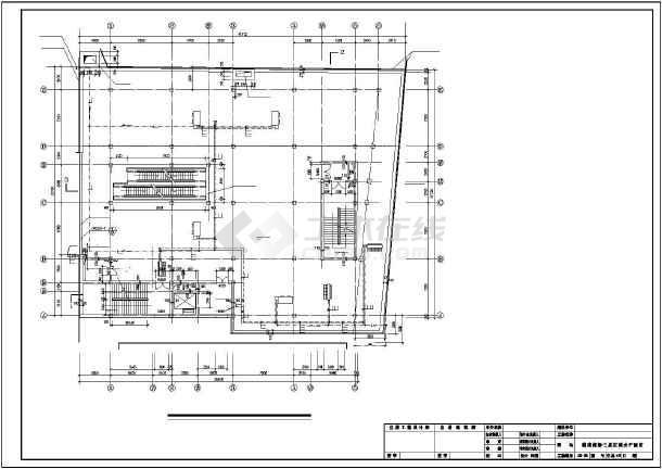 佳木斯某百货商场翻建空调施工图纸-图1