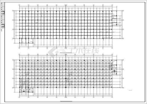 某24x80m厂房结构设计图-图1