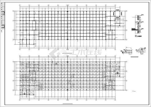某24x80m厂房结构设计图-图2