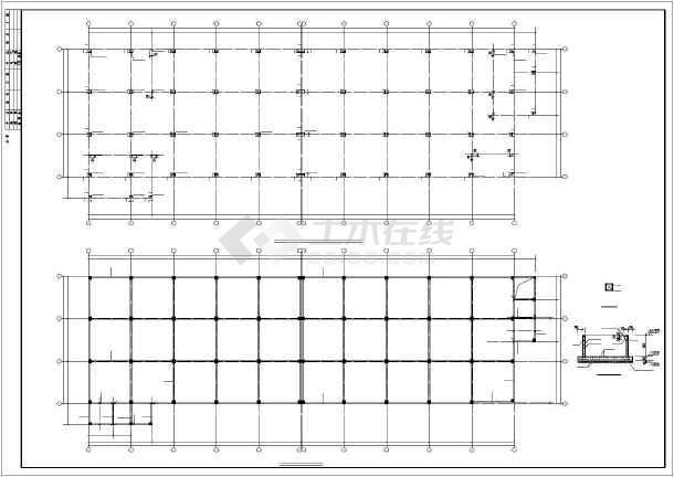某24x80m厂房结构设计图-图3