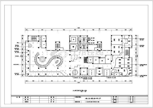 某精品咖啡馆室内装修方案cad设计图-图2