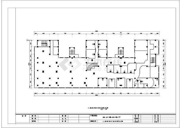 某精品咖啡馆室内装修方案cad设计图-图3