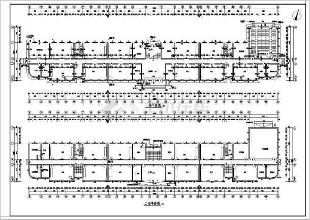 某地中学教学楼建筑结构图-图2