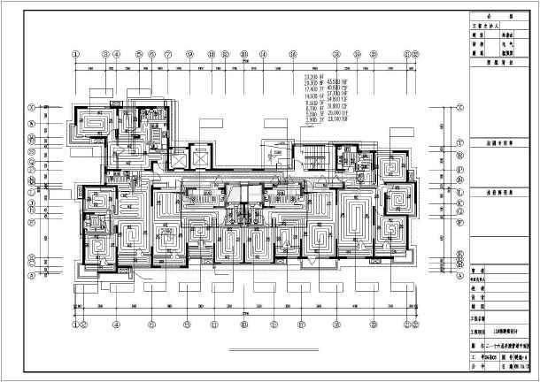 天津某住宅楼采暖通风图-图2