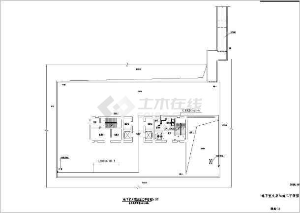 点击查看[江苏]办公大楼智能化工程电气全套图第1张大图