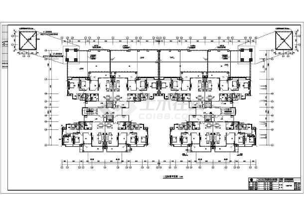 [广东]住宅楼核心筒电气施工图(含防雷装置大样图)-图2