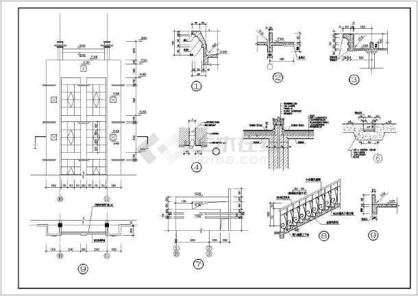 某厂房建筑施工图-图3