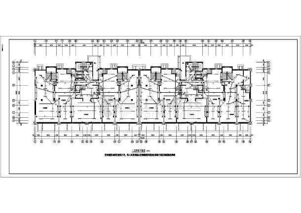 [安徽]商住楼电气施工图-图2