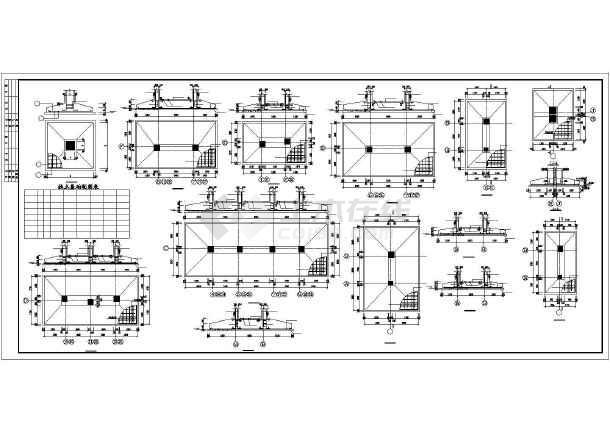 蓬莱某5层框架住宅结构设计图-图2