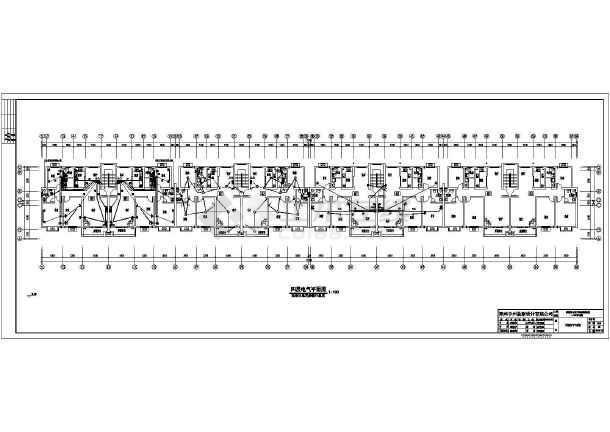 [河南]住宅楼电气施工图(含等电位联结图)-图1