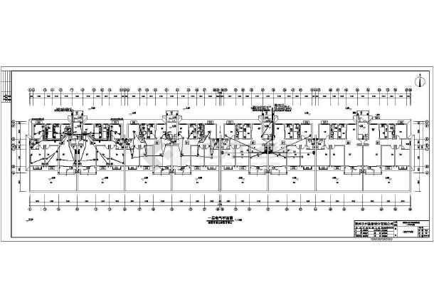 [河南]住宅楼电气施工图(含等电位联结图)-图3