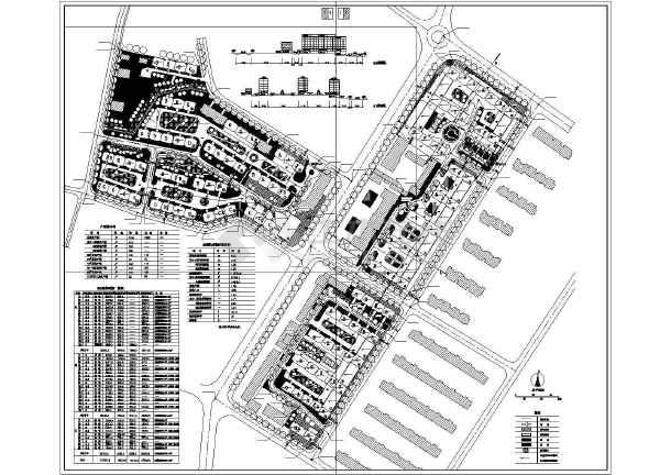某市小区总规划设计方案图-图1