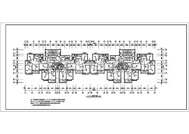 [河北]高档住宅楼电气施工图带人防(甲级院)-图一