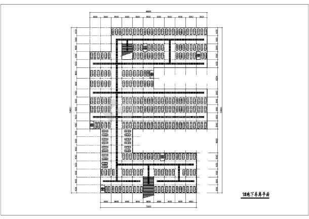 某市区住宅小区规划设计总图-图3