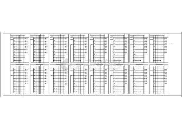点击查看[天津]熔铸车间电气施工图最新(含滑触线安装、照明计算书)第1张大图