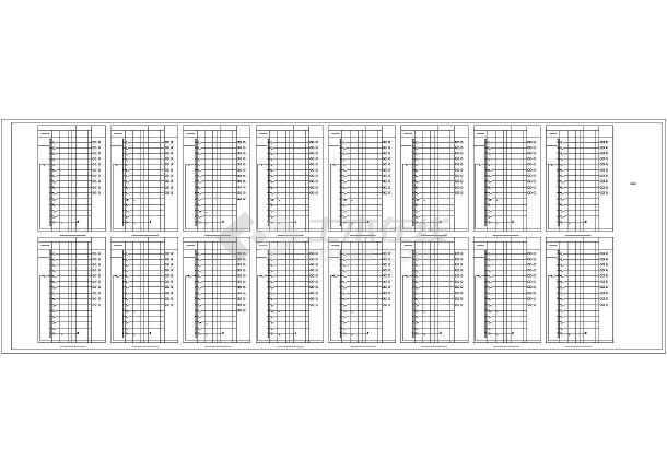 [天津]熔铸车间电气施工图最新(含滑触线安装、照明计算书)-图2