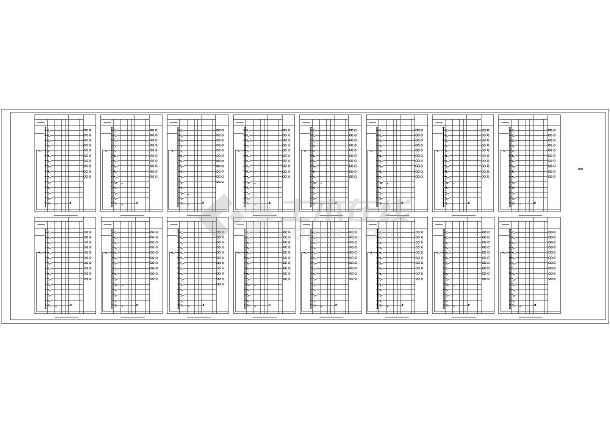 [天津]熔铸车间电气施工图最新(含滑触线安装、照明计算书)-图3