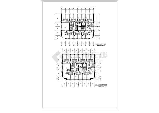 [山西]办公综合大楼精装电气全套施工图-图二