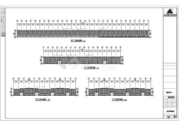 点击查看某厂房工程建筑结构CAD图第1张大图
