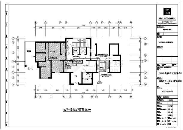 [江西]小区住宅楼电气施工图(含航空障碍灯系统图)-图2