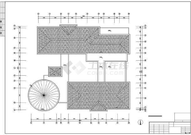 点击查看某地幼儿园建筑施工图(共4张)第1张大图