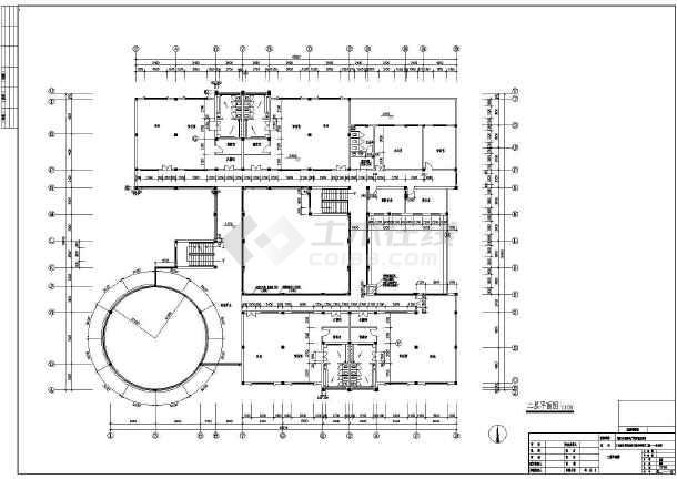 某地幼儿园建筑施工图(共4张)-图3
