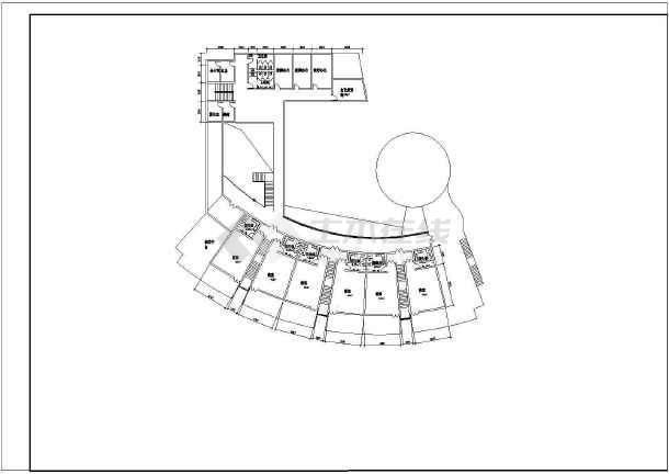 某地幼儿院建筑施工图(共5张)-图一