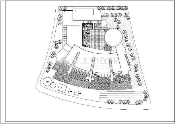 某地幼儿院建筑施工图(共5张)-图3
