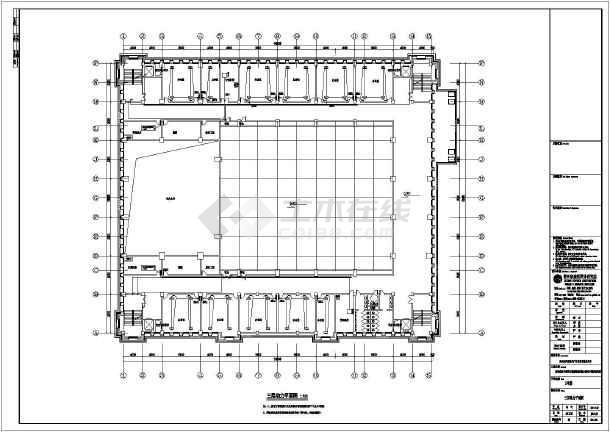 [贵州]会议中心电气施工图(含消防系统原理图)-图2