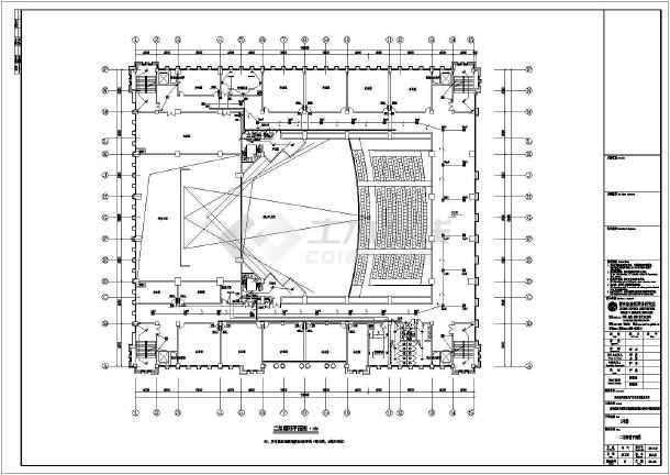 [贵州]会议中心电气施工图(含消防系统原理图)-图3