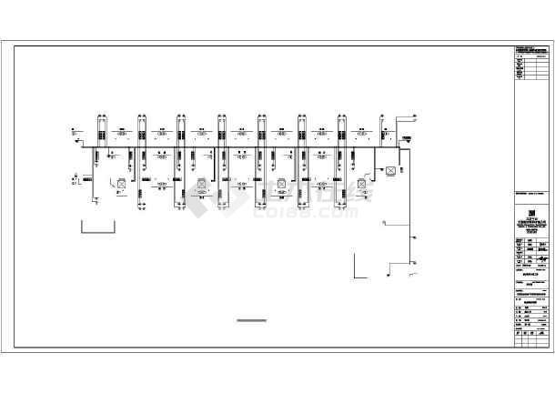 点击查看[内蒙古]政府机关宿舍娱乐综合楼电气施工图第1张大图