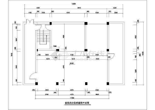 某连锁服装店全套装修设计图纸-图二