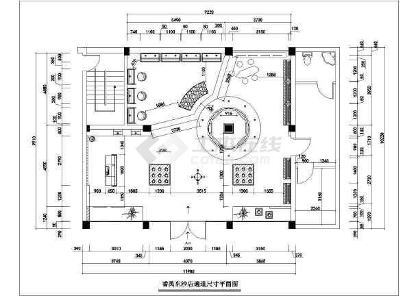 某连锁服装店全套装修设计图纸-图2