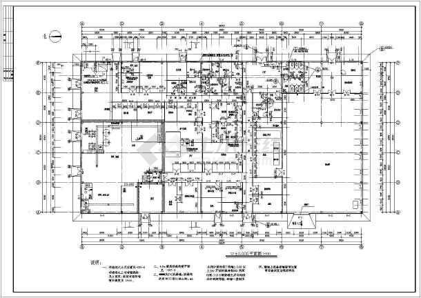 某中药前处理提取车间建筑施工图-图2