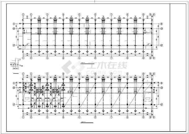 某框架宿舍结构设计图-图2