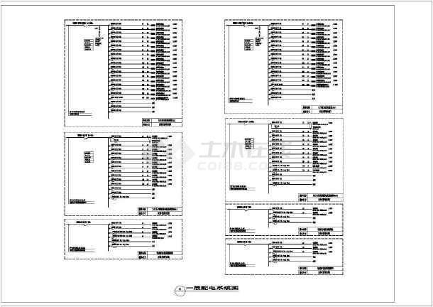 点击查看[安徽]重点工程-综合档案馆电气全套施工图最新(含智能化设计)第1张大图