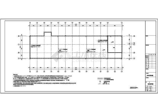 [浙江]4层中学宿舍楼电气全套施工图-图1