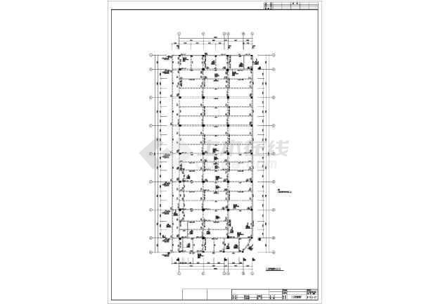 某地保健中心全套结构CAD图纸-图1
